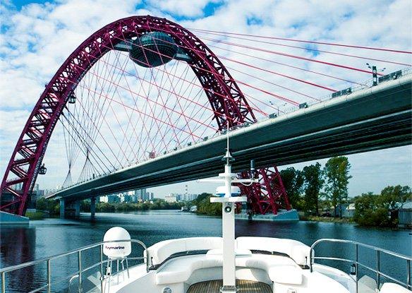 Аренда яхты в Москве
