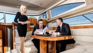 переговоры на яхте